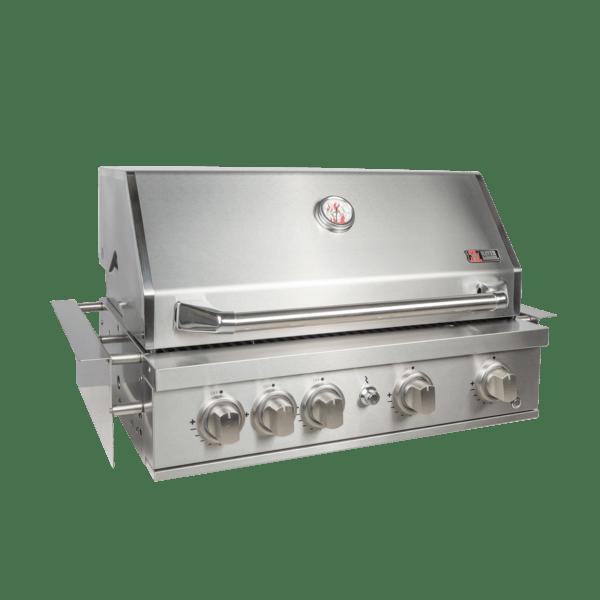 ZUNDA Einbau-Gasgrill MGG-441 für Outdoorküchen