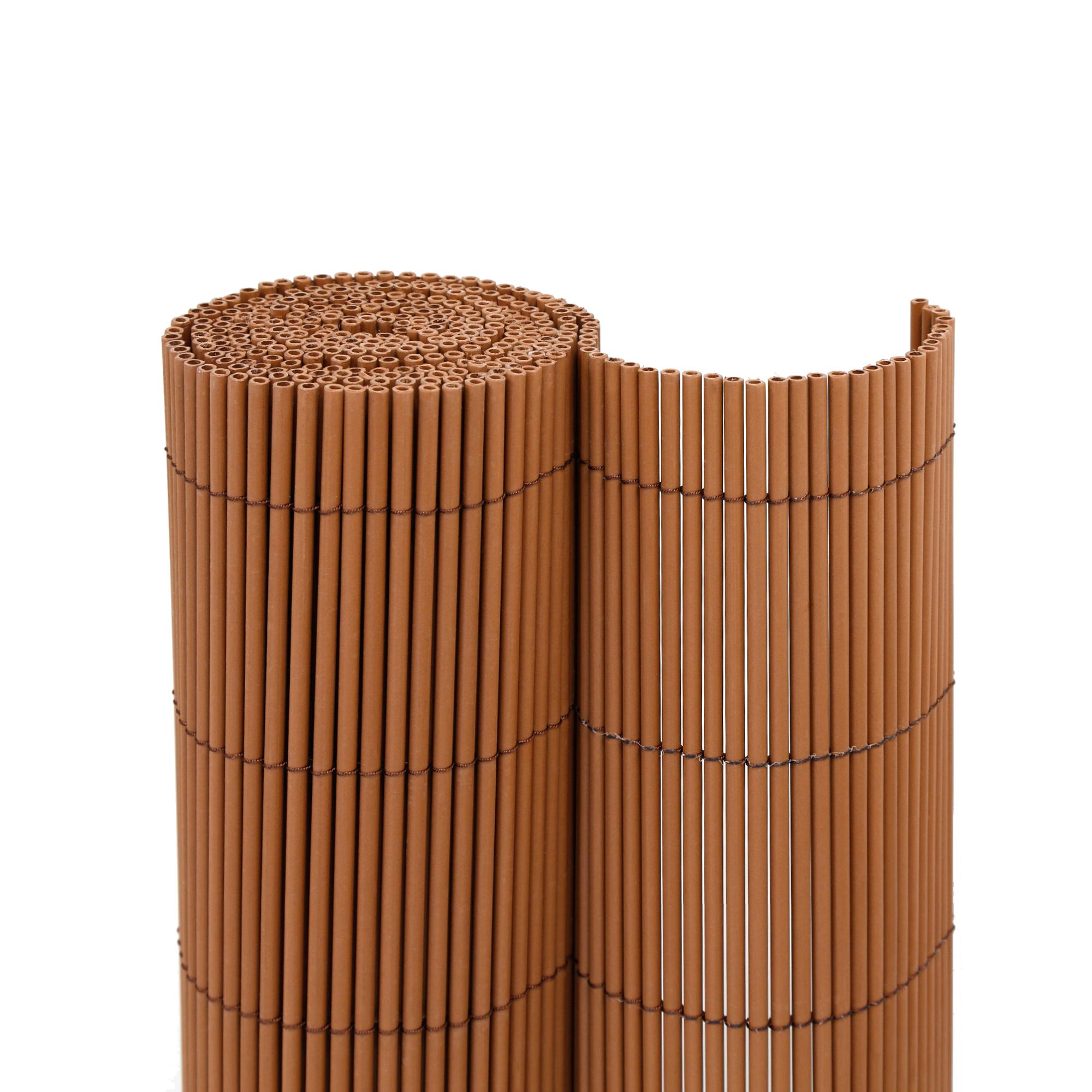 Kunststoff Sichtschutzmatten In Holzoptik Grill More