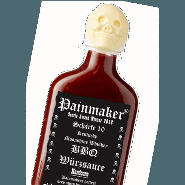 Hardcore BBQ Sauce mit 200.000 Scoville