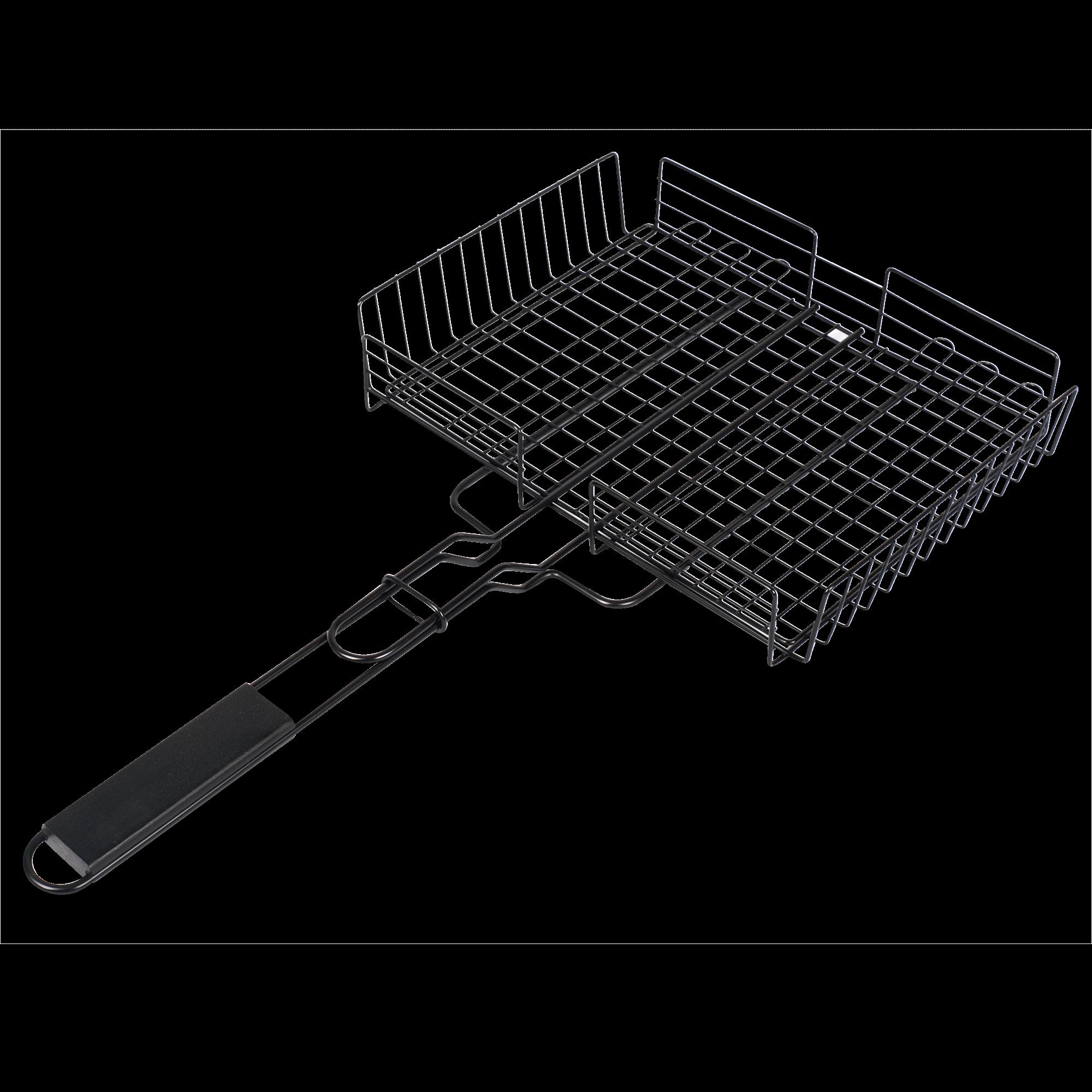 f r fleisch und gem se bbq grillkorb mit langem griff. Black Bedroom Furniture Sets. Home Design Ideas