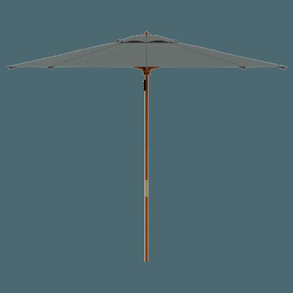 parakoala Holz-Sonnenschirm 3m (Farbe nach Wahl)