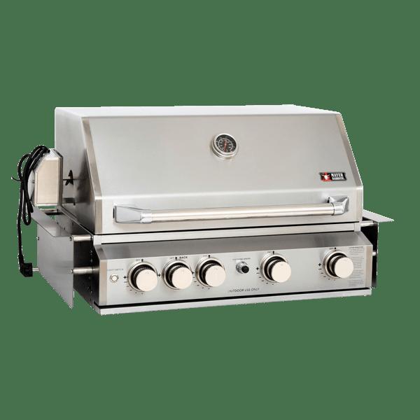 ZUNDA Einbau-Gasgrill MGG-240 für Outdoorküchen