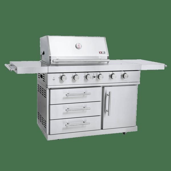 ZUNDA Gasgrill MGG-442 Premium mit Backburner