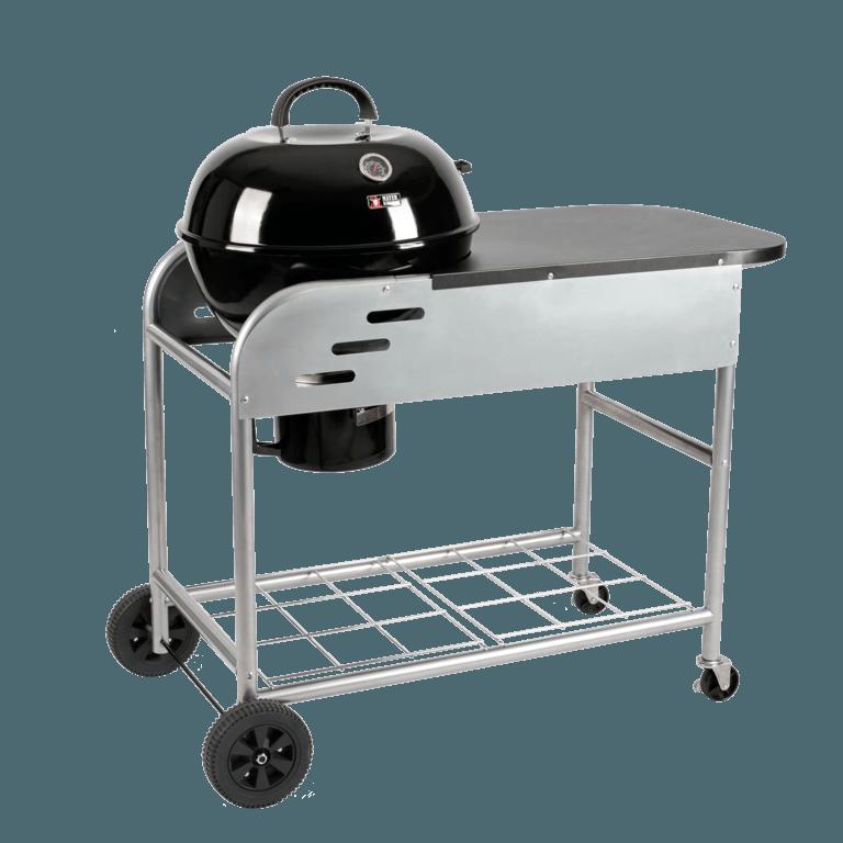 BRENNA Kugelgrill | Grillwagen MKG-448W Pro mit Tisch