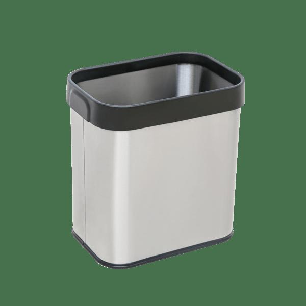 Mülleimer aus Kunststoff & Edelstahl für ZUNDA...