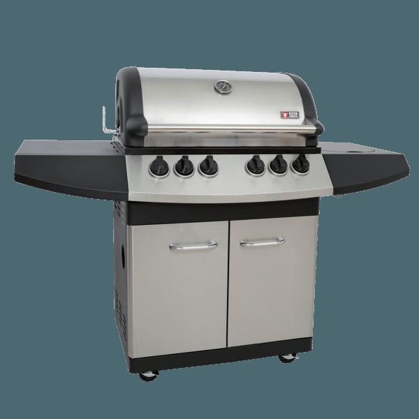 ZUNDA Gasgrill MGG-341 Pro mit Backburner