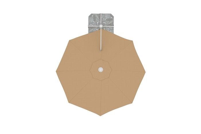 ampelschirm-i2-rund-creme