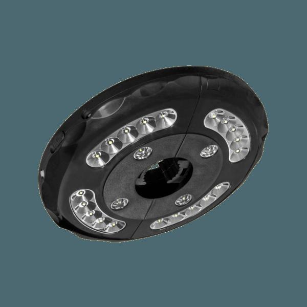 LED-Beleuchtung für interpara Sonnenschirm