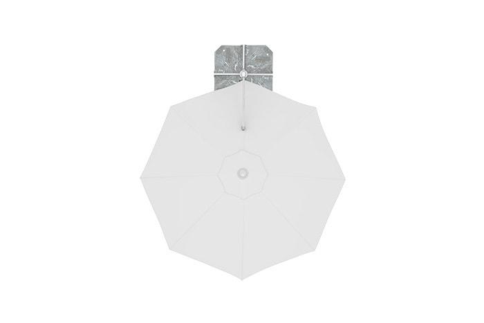 ampelschirm-i2-rund-weiss