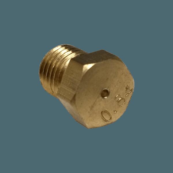 84er Gasdüse/Injector für Hauptbrenner, Gewinde...
