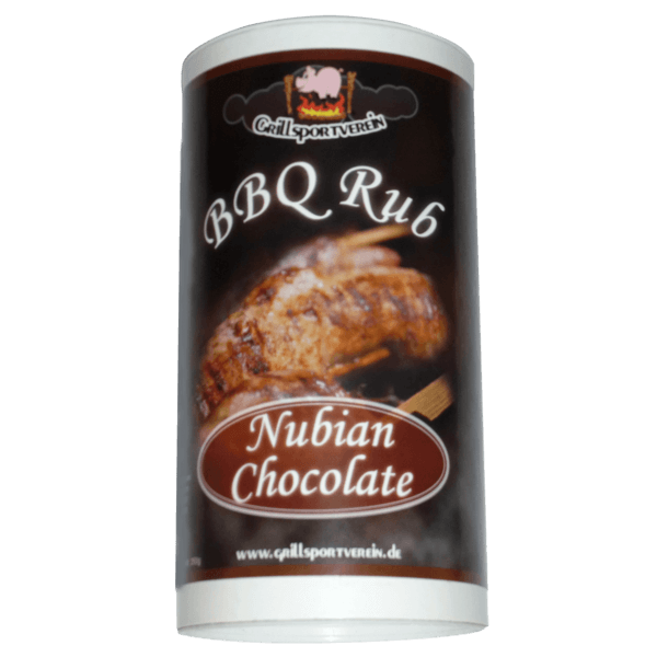 BBQ Rub Nubian Chocolate 350g