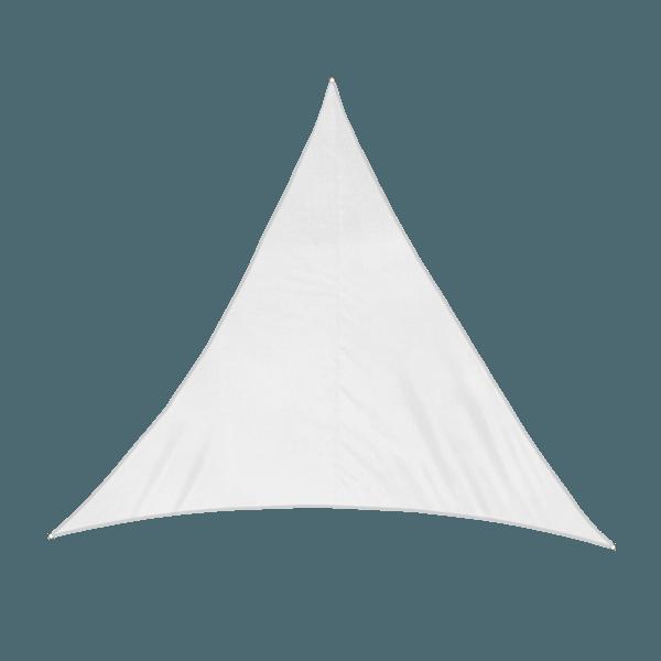 Sonnensegel - 400 x 400 x 400cm - cremeweiss -...