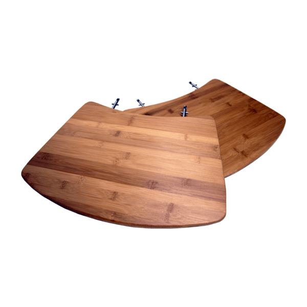 Seitentisch, Bambus & Edelstahl für 30100146