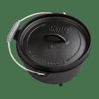 Vorschau: 30200046-grill-more-essentials-dutch-oven-feuertopf-8l-i01