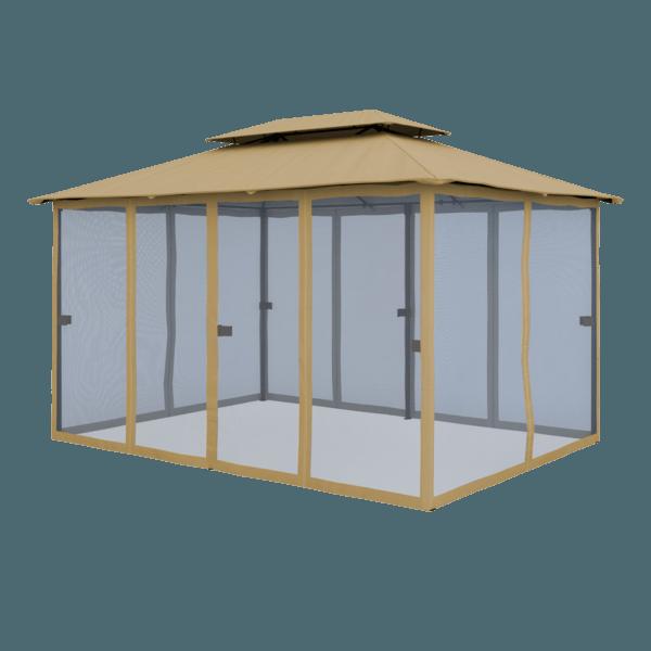Comfort Gartenpavillon Seitenwand