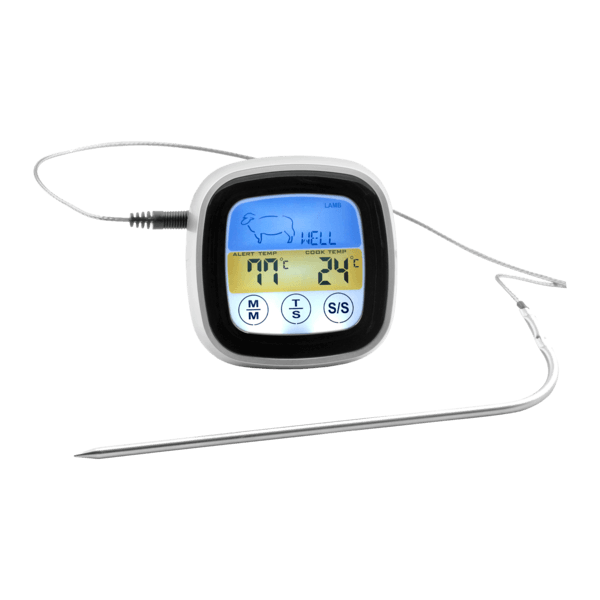 Digital-Grillthermometer mit Touchscreen